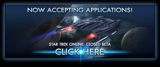 Star Trek Online - Closed Beta Sign-ups